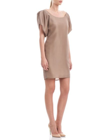 Beige-Neutral-Grey-Silk-Dress1