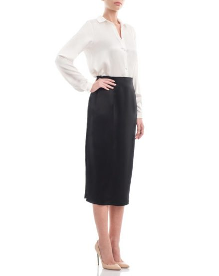 Black-duchesse-silksatin-pencil-skirt1