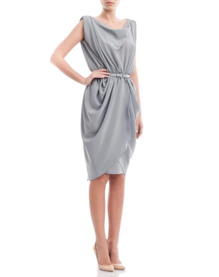 Blue-crepe-silk-draped-dress1