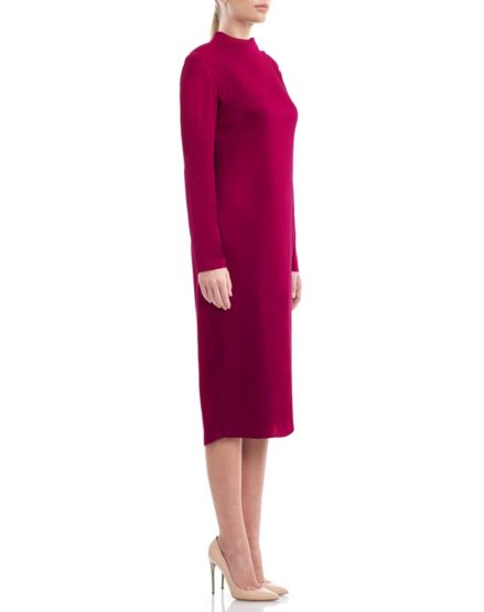 Magenta-silkcrepe-midi-dress1
