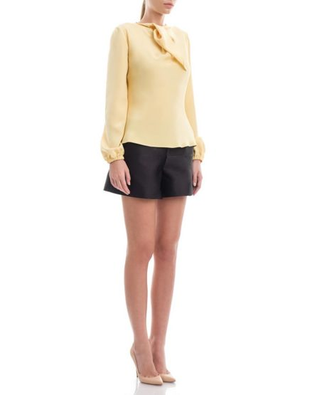Yellowish-Silk-Satin-Blouse-Calla-Design1