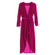 asymmetric-magenta-silk-velvet-dress