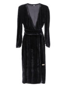 black-velvet-wrap-dress